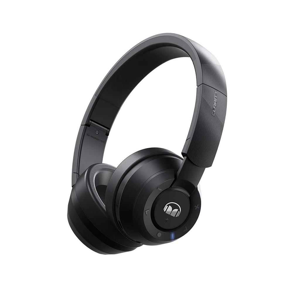 אוזניות אלחוטיות AroundEar בלוטוס Monster Clarity 200 - שחור