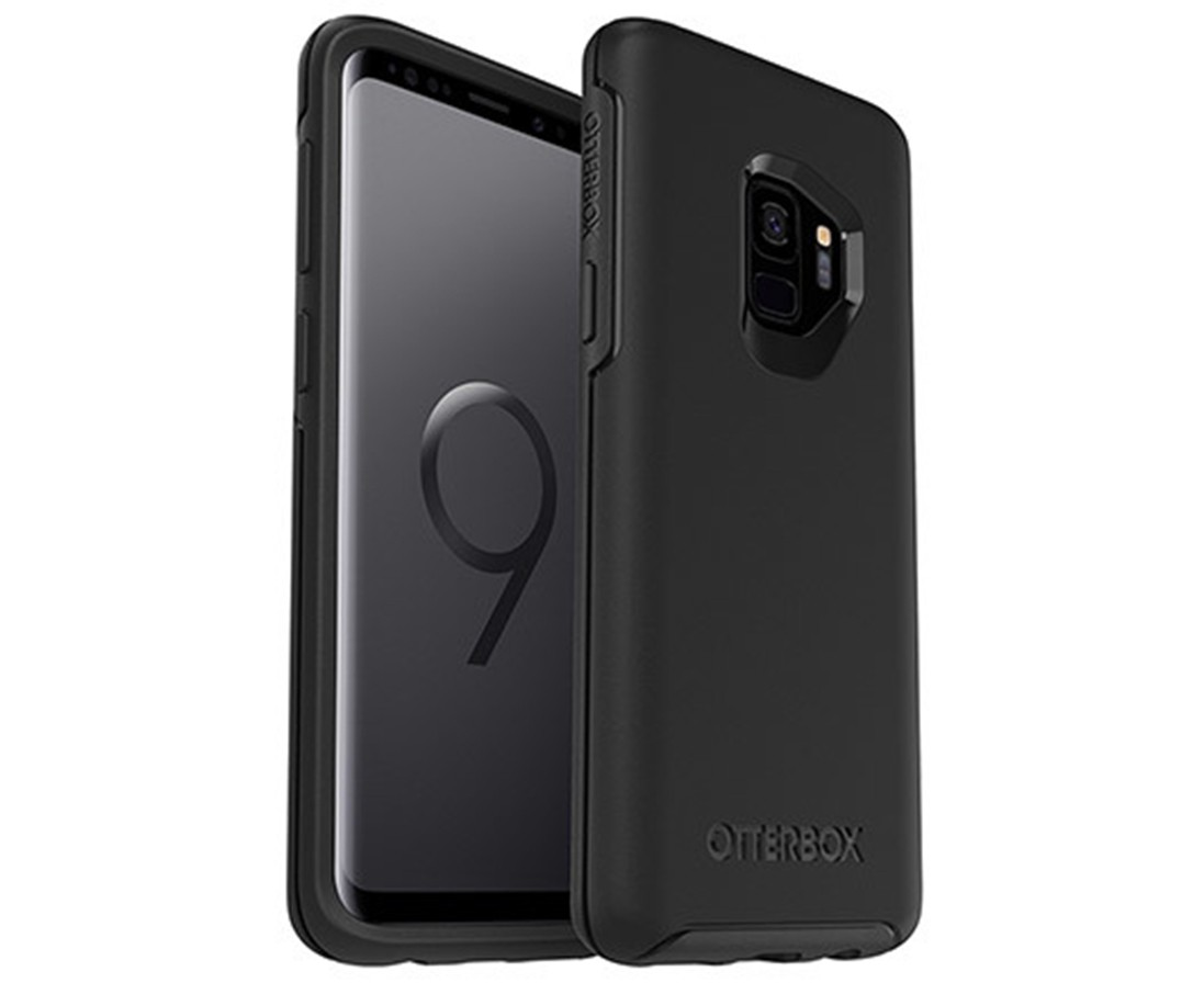 כיסוי שחור OtterBox Symmetry - GALAXY S9 PLUS