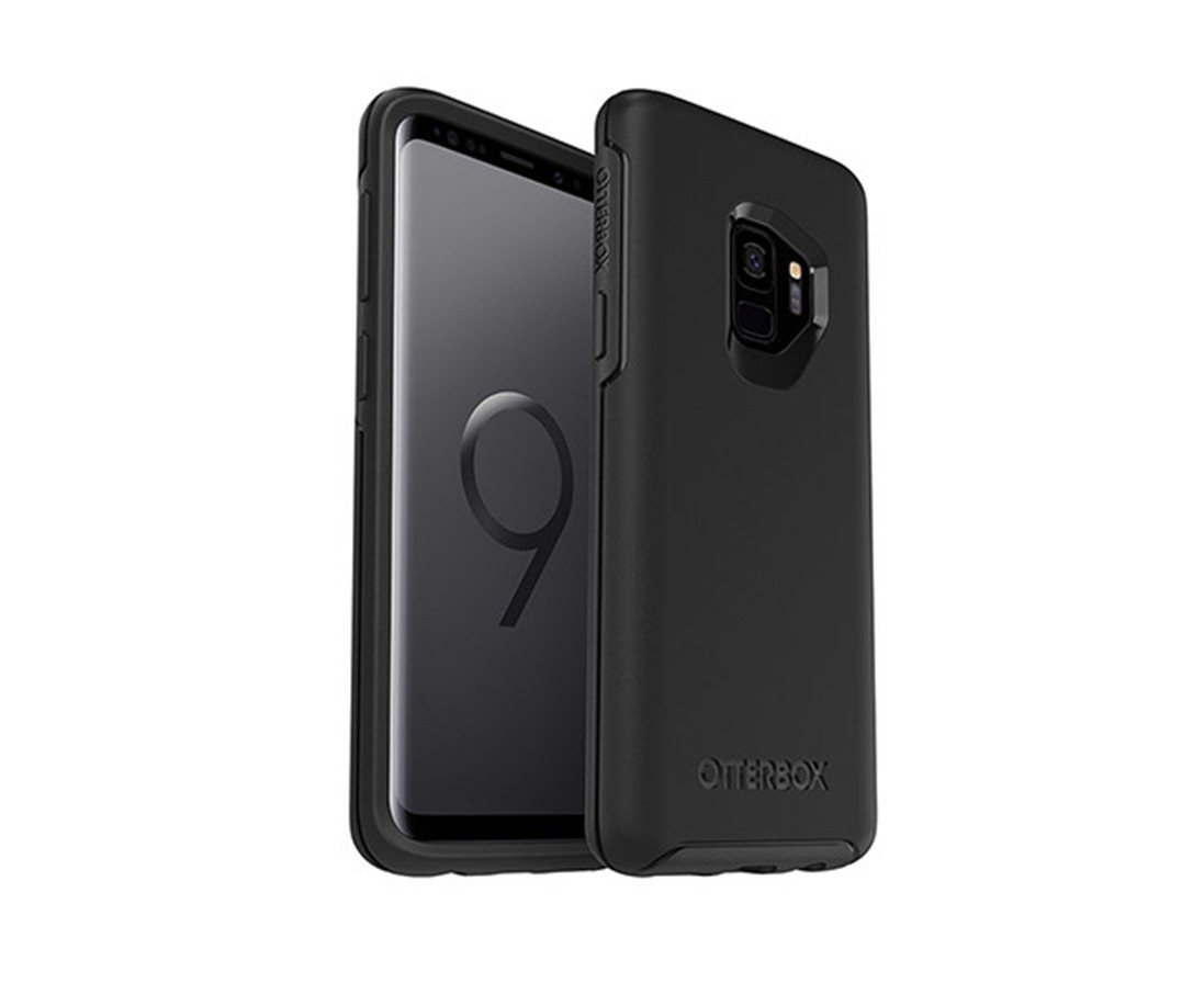 כיסוי שחור OtterBox Symmetry - GALAXY S9