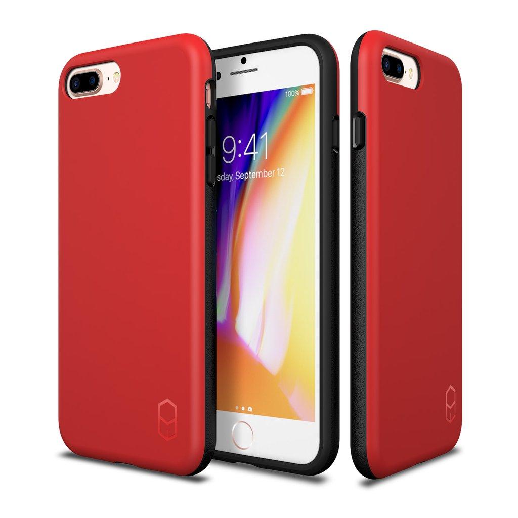 כיסוי אדום IPHONE 8 PLUS / 7 PLUS - PATCHWORKS LEVEL ITG