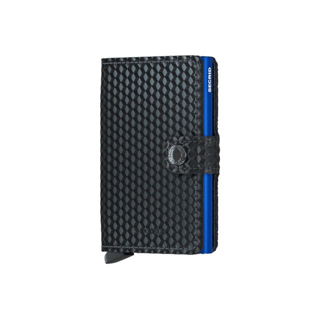 Mini Wallet Cubic Black-Blue SECRID